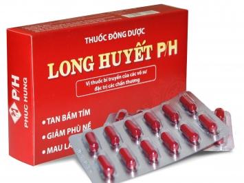 Long huyết P/H là gì? Thành phần, công dụng, cách dùng, giá bán, mua Long huyết P/H ở đâu